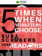 subscriber over reader-Infographic