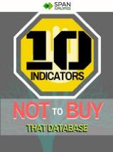 10 database indicators-Infographic