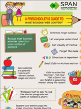 A Preschooler Guide To Make Rocking Web Content-Infographic