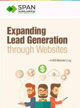 Expanding lead generation through websites