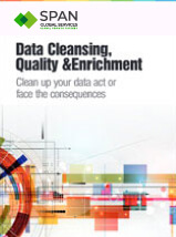 Data cleansing quality and enrichment