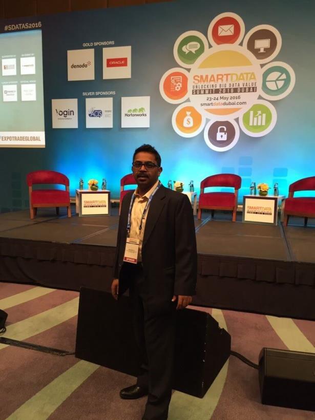 SGS at Smart Data Summit Dubai