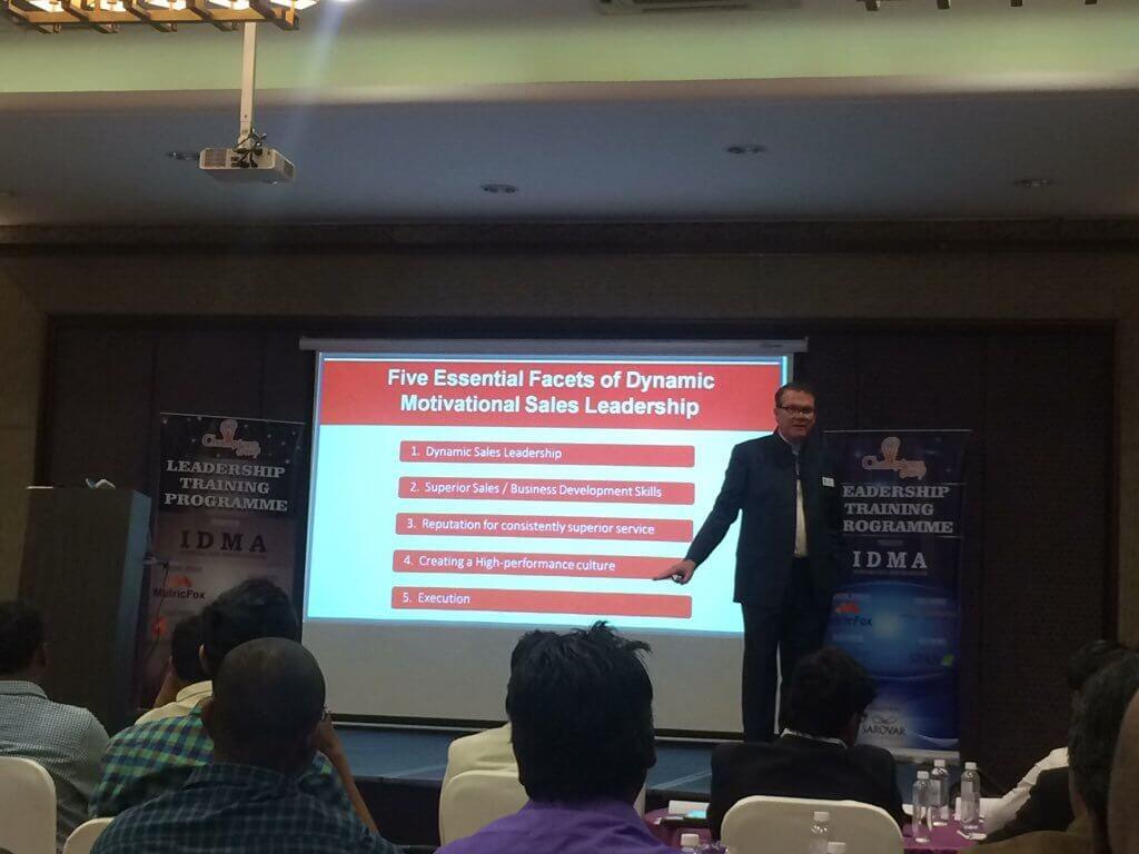 Doug in action @ IDMA Leadership Meet