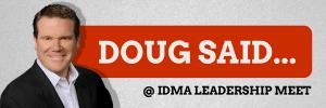 Got Motivated with Doug at IDMA Leadership Meet