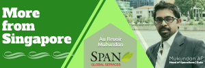 Span Global Services HOO Shifts Base to Singapore