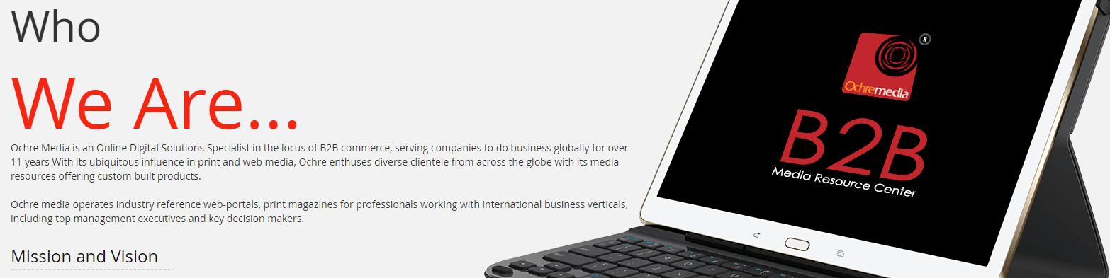 OchreMedia Digital Marketing Example - 1