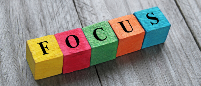Focus on topics and categories