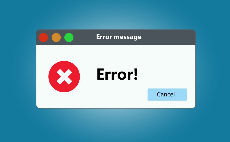 Error message-Span Global Services